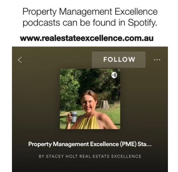 Podcast Property Management Excellence on spotify plus other apps