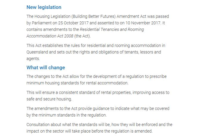 Rtra Act Review Queensland